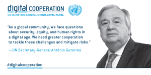 Report of the UN Secretary-General's ‎HLP on Digital Cooperation