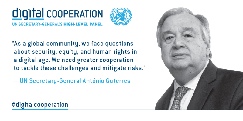 Report of the UN Secretary-General's HLP on Digital Cooperation